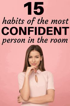 When you describe a confident person, what are the signs of confidence in a woman? Do they think differently or act differently? When you look at examples of confident leaders – they have specific habits that make them successful. If you're wondering Building Self Confidence, Self Confidence Tips, How To Build Confidence, Gaining Confidence, Increase Confidence, Confidence Quotes, Self Development, Personal Development, Professional Development