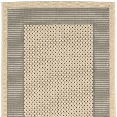 You'll love the Courtyard Grey/Cream Indoor/Outdoor Rug at Wayfair - Great Deals on all Décor  products with Free Shipping on most stuff, even the big stuff.