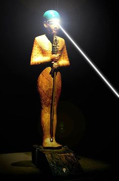 """* THE ANCIENT EGYPTIAN GOD """"PTAH"""".  """"PTAH, the creator god of everything, conceives the world by the THOUGHT of his heart and gives life through the magic of his WORD."""" *"""