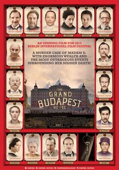 Grand Hotel Budapest, Wes Anderson, Cinema Posters, Film Posters, Jude Law, Indie Movies, Hd Movies, Movies Online, Fiennes Ralph