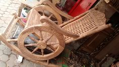 The  Hand Carved  Rocking Chair