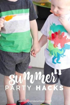 Summer Party Hacks