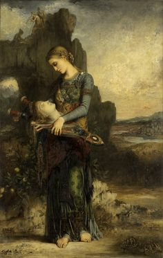 """""""Orpheus,"""" by Gustave Moreau(1865)"""
