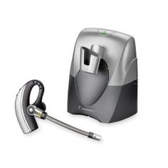 Plantronics CS70N/HL10 Professional Wireless Office Headset System with Lifter Roam hands free up to 300 feet from the desk phone. DECT 6.0 technology provides best-in-class audio quality. Light, over-the-ear design for all day comfort. Noise-canceling microphone significantly reduces background. Six hours talk time without recharge.  #Plantronics #Wireless