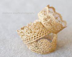 DIY Lace Crowns Tuto