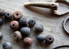 homemade clay beads