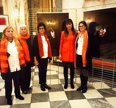 Sala Rossa in #arancione #orange contro la violenza sulle donne  #PD #partitodemocratico #torino #turin #25novembre #noviolenzasulledonne #violenzasulledonne #teatro #25n #comuneditorino #salarossa #donne #elette #stopviolenzaalledonne