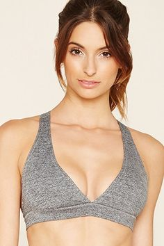 fcdceeb902f62 Low Impact - Marled Sports Bra Active Wear For Women