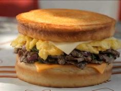 Spangles Sourdough Steak Egg and Cheese - YouTube