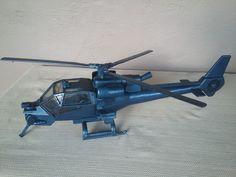 Vintage 1983 Multi-Toys CBS Blue Thunder Helicopter
