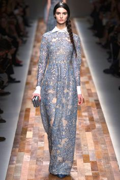 VALENTINO'S BLUE & WHITE- FALL 2013 PARIS- Part 3 | Mark D. Sikes: Chic People, Glamorous Places, Stylish Things
