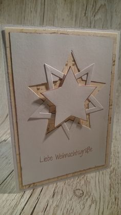 Learn more about Christmas card ideas . - Petra Homepage - Discover more about Christmas Card Ideas Learn more abou - Homemade Christmas Cards, Christmas Cards To Make, Christmas Star, Homemade Cards, Handmade Christmas, Holiday Cards, Christmas Crafts, Christmas Decorations, Star Cards