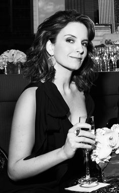 "Tina Fey - Currently reading ""Bossypants"" and it's pretty funny!"