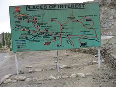 Interesting places in the area of Leh
