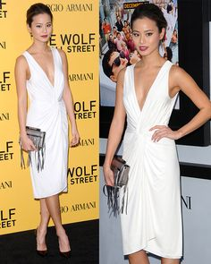 Jamie Chung at the US premiere of 'The Wolf of Wall Street' at The Ziegfeld Theatre in New York City on December 17, 2013
