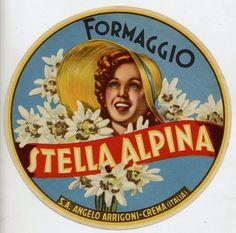 Stella Alpina Formaggio, Italia
