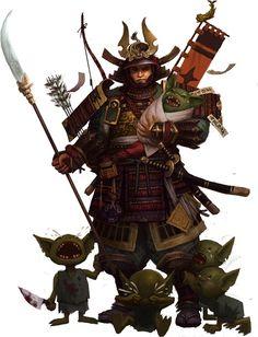 Samurai & Goblin Babies?