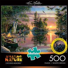 300 Large Piece Jigsaw Puzzle Kim Norlien Buffalo Games Peace Like a River