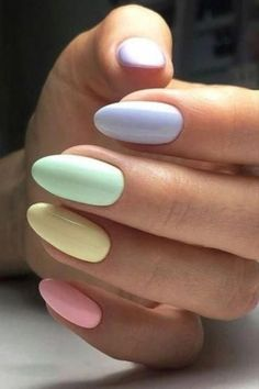 If you like pastel nails and nail designs, if you choose to have beautiful hands, this is your place. Here you can see the best designs and pastel nails to get ideas. In this article, you will see spectacular nail… Continue Reading → Summer Acrylic Nails, Best Acrylic Nails, Summer Nails, Cute Spring Nails, Solid Color Nails, Nail Colors, Pastel Color Nails, Gel Color, White Gel Nails