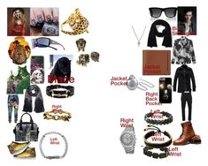 """""""Los Angeles Girl"""" by knzsllvn on Polyvore featuring Betsey Johnson, Carrera y Carrera, Gucci, Yves Saint Laurent, TAG Heuer, Serge DeNîmes, Steve Madden, MANGO, Bling Jewelry and Vitaly"""