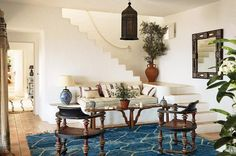 """4,446 Likes, 12 Comments - Architectural Digest (@archdigest) on Instagram: """"The laid-back vibe of designer Daniel Romualdez's Ibizan home is felt in the decor. """"When I'm in…"""""""