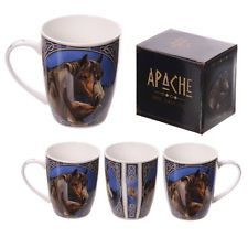 Checkout today with your New Bone China Mug - Apache Horse Design by weeabootique!