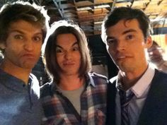 Keegan Allen, Tyler Blackburn and Ian Harding hahaha so cute