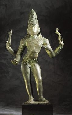 Shiva as Lord of Music,c. 1150-1200  India: Tamil Nadu, 1125-1225 Bronze 23-5/8 in. (60.0 cm)