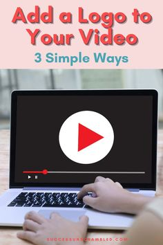 Stop hackers from stealing your video content by placing a watermark logo on your videos on Facebook, Instagram, LinkedIn, Twitter and YouTube. Find out which software to use to add a logo to videos quickly and easily. #youtube #videomarkeitng #instagrammarketing #facebookmarketing Digital Marketing Strategy, Content Marketing, Affiliate Marketing, Social Media Marketing, Importance Of Branding, Online Business, Business Tips, Competitor Analysis, You Videos
