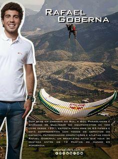 Rafael Goberna , piloto de acrobacia SOL Paragliders / Red Bull  #solparagliders #solflywear #redbull #vocepodevoar