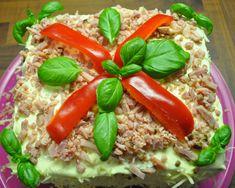 Voileipäkakku – syntisenhyvaa Sandwich Cake, Sandwiches, Food And Drink, Vegetables, Foods, Bebe, Food Food, Food Items, Vegetable Recipes