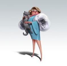 Character Illustrations by Michal Lisowski