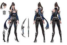 Warrior Girl, Fantasy Warrior, Fantasy Characters, Anime Characters, Beauty Killer, Fantasy Art Women, 2d Art, Poses, Art Model