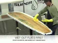 Grain Surfboards | Laminating Tutorial with Entropy Resins (1 of 2)