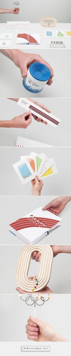 Souvenir items for The Olympic Museum by Marceau Avogadro - ECAL. - a grouped images picture Identity Design, Olympics, Museum, Create, Cards, Inspiration, Biblical Inspiration, Maps, Playing Cards