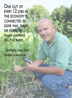 When the farmer is hurting financially by drought, government interference, etc...it trickles down to eventually hurt everyone!  Either in having less products due to wipe out of crop...and then lost jobs or higher cost passed onto everyone Think about it!