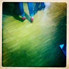 Threesome heels