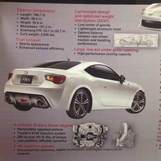Scion FR-S breakdown.