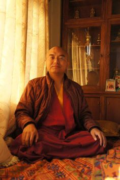 """Never disturbed ~ Mingyur Rinpoche http://justdharma.com/s/1nuc0  Even though thoughts and emotions come and go, the mind's natural clarity is never disturbed or interrupted.  – Mingyur Rinpoche  from the book """"The Joy of Living: Unlocking the Secret and Science of Happiness"""" ISBN: 978-0307347312  -  https://www.amazon.com/gp/product/0307347311/ref=as_li_tf_tl?ie=UTF8&camp=1789&creative=9325&creativeASIN=0307347311&linkCode=as2&tag=jusdhaquo-20"""