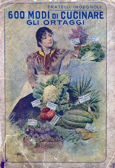 Italian seed catalogue by Fratelli Ingegnoli (Ingegnoli Brothers) - 1925