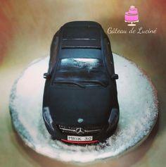 Mercedes-Benz 3D cake by Gâteau de Luciné