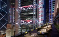 SEVVA roof top taste bar Hong Kong