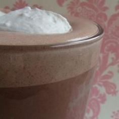 """Whipped Hot Chocolate 