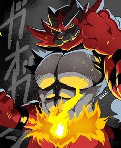 "ponpekopon: "" Congratulations for being canon Incineroar!! """