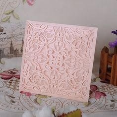 Amazon.com: YUFENG 60pcs Laser Cut Wedding Invitations Cards Kit for Marriage Engagement Birthday Bridal Shower: Home & Kitchen