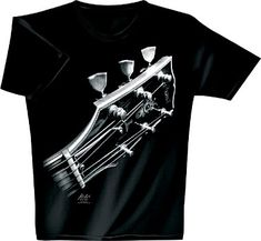 Playera de guitarra