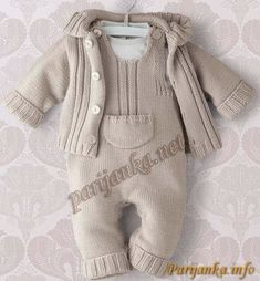 New Baby Clothes Knit Baby Sweaters, Knitted Baby Clothes, Organic Baby Clothes, Baby Outfits, Kids Outfits, Winter Baby Clothes, Baby Winter, Knitting For Kids, Baby Knitting