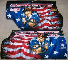 Airbrushed Hood Liner - Corvette Forum