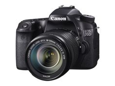 Canon 70D + EF-S 18-135mm Appareil Photo Numérique Compact 20.2 Mpix Noir: Amazon.fr: Photo & Caméscopes