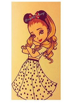 Ariana Grande Cartoon